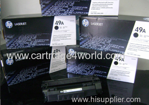 Genuine HP Q5949A Black Laser Toner Cartridge (49A)