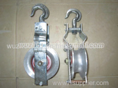 Cable pulley block cargo block