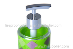 double thickness PS plastic lotion pump bottle