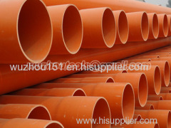 PVC pipe Fittings Corrugated & Smoothwall Cable Conduit
