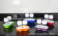 The plastic seasoning box