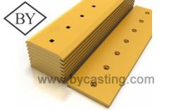 Ground engaging tools Double bevel cutting edge/dozer cutting edges cat 4T3030(6J2350)