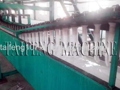 Flocking gloves production line