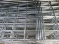 Flat Galvanized Welded Wire Panel Fence