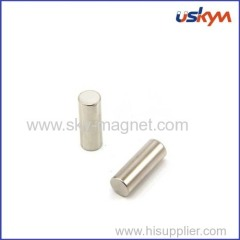 Nickel plating cylinder magnet
