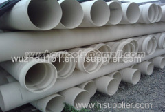 PLB HDPE Duct/ UPVC Plumbing Pipes Fresh Water Pipes