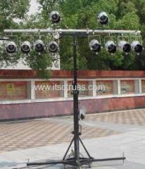 4M Kurbel steht für Par-Dose in kleinen mobilen Events oder mobilen DJ-Events