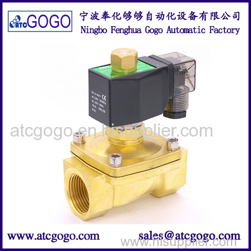 Normally open water solenoid valve supplier 220v 110v 24v 12v