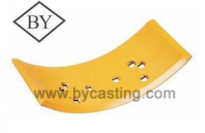 Undercarriage parts spare parts 9J4405/06 Overlay Curved edge for