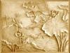 FRP/GFRP imitation sandstone relief sculpture