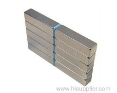 Ni coating sintered ndfeb magnet