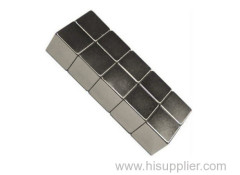 Ni coating sintered neodymium block