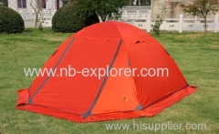mountain climbing tent / backpacking tent for 2-person