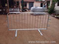 Stackable Interlocking Flat Feet Road Barrier