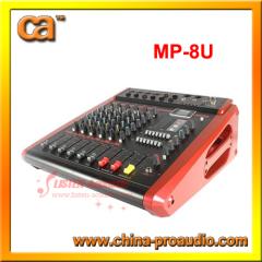 8 Channels Ningbo PA Mixer Console