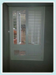 Stained Color Wooden Plantation Shutter