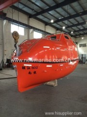 Totally enclosed lifeboat( fire protect)