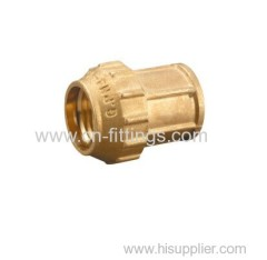 female threaded brass compression coupling fittings