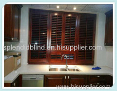 63MM/89MM/114MM Home Use Timber Plantations Shutter