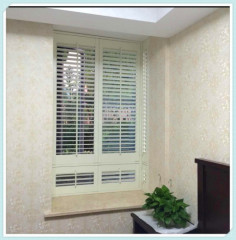 63MM/89MM/114MM Manufucturer Stained Color Wooden Plantation Shutter