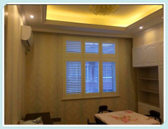 63MM/89MM/114MM Stained Color Wooden Plantation Shutter