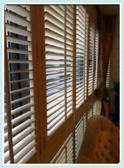 63MM/89MM/114MM Manufucturer Easy To Measure Wooden Timber Shutter