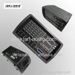 Pro cabinet power mixer/6 channel mixer