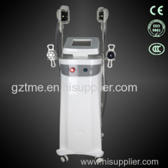 High quality 2 handles cryolipolysis cellulite body treatment cryolipolysis