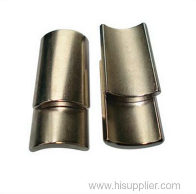 arc segment neodymium motor magnet