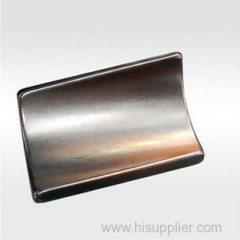 High Temperature Stability NdFeB Arc Magnet