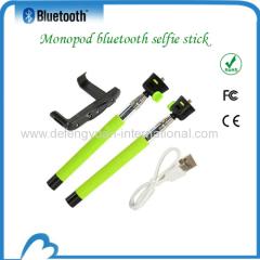 waterproof monopod with bluetooth shutter
