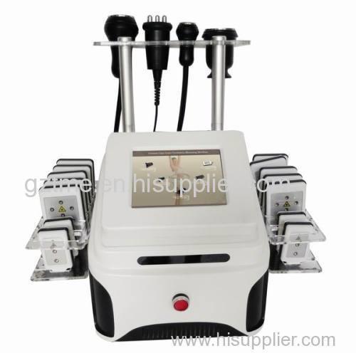 vacuum rf cavitation lipolaser body slimming machine