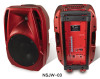 15 inch PA speaker with blue tooth