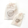 100% Organic Cotton Muslin Bag/ Favor Bag/ Party Bag/ Wedding Bag/ Coffee Bean Bag