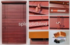 50mm Bass Wood Venetian Blinds with UV coating