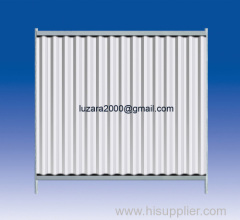 Site Portable Steel Hoarding Fencing System