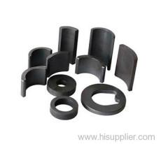Bonded neodymium permanent segment magnet