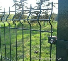 Construction Welded Wire Mesh Fence