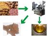 The sesame hydraulic oil press machine