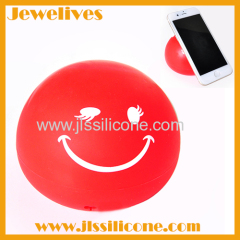 silicone ball keep phone release hands