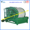 Drum type external filtration vacuum filter