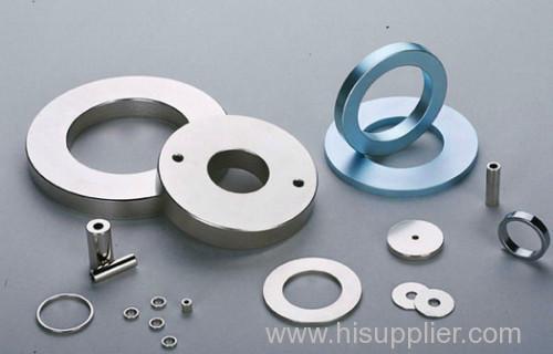 Sintered neodymium starter motor magnets