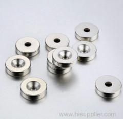 Sintered neodymium small round flat magnet