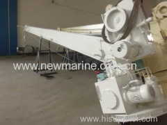 25KN Single Arm Slewing Davits