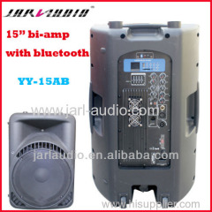 active speakers with 150w+150w bi-amp/Portable plastic speakers with USB/Bluetooth
