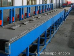 Iron Wire Zinc-coating Production Line with good finishing