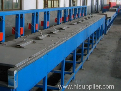 Iron Wire Galvanizing Continuous Production Line