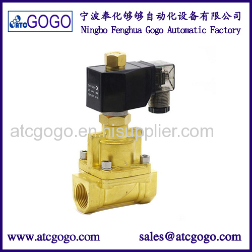 12v high temp solenoid valve normally open 2 way pilot operated diaphragm type valve for hot water
