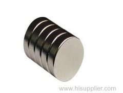 Strong Permanent sintered disc neodymium magnet