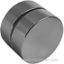 Permanent sintered adhesive neodymium magnet disc